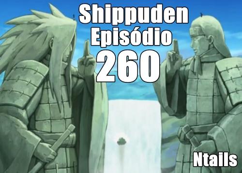 Naruto Shippuden Episódio 260 - Separação