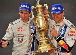 Campeones del mundo de rallys 2015