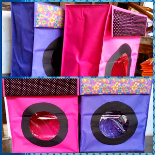 Laundry box organizer