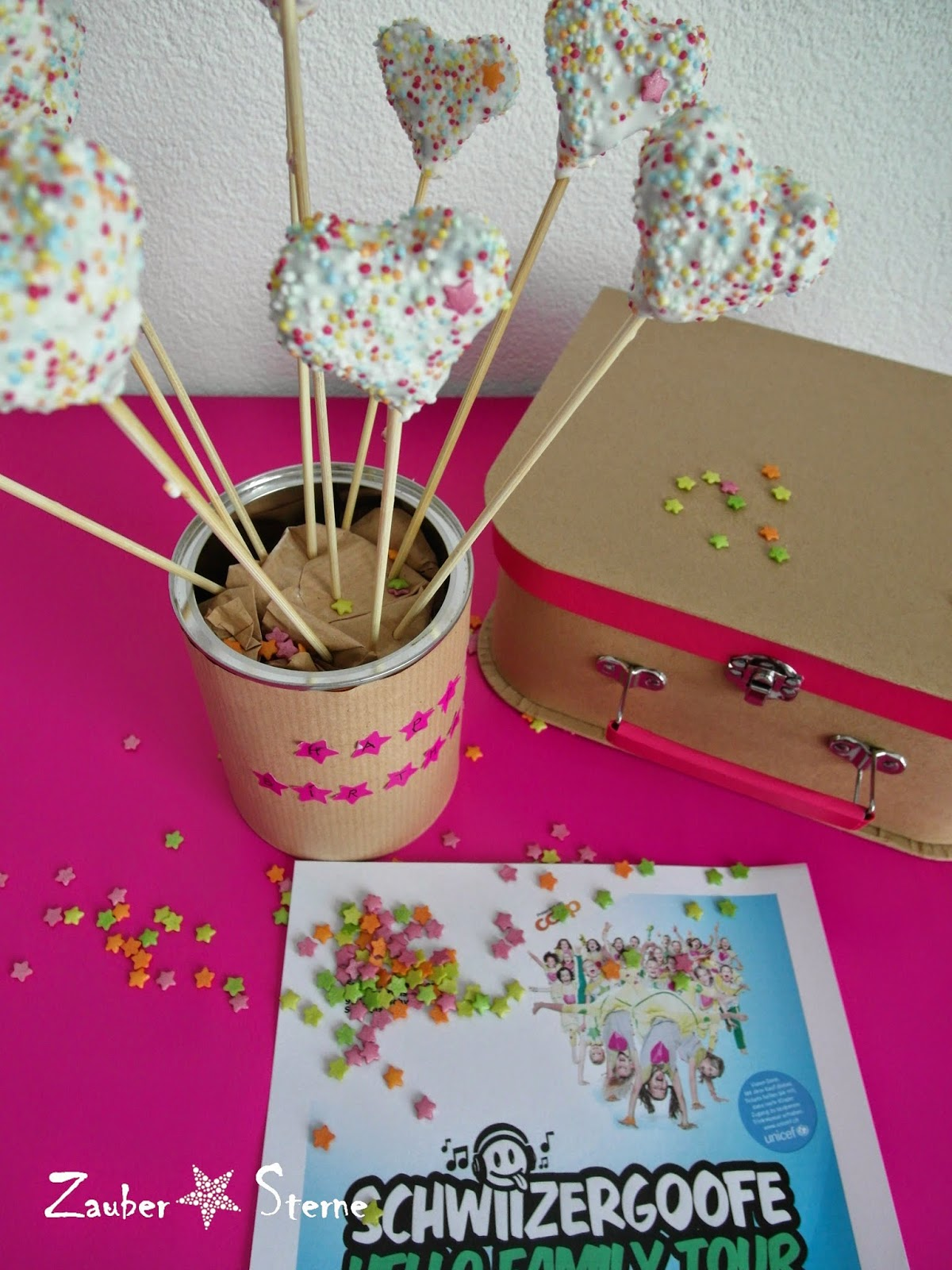 Cakepops, Cakepops Herzen