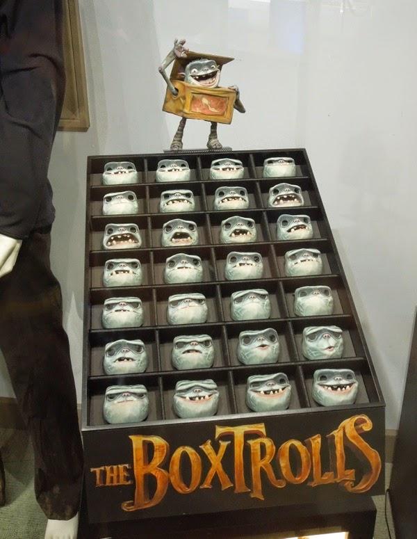 The Boxtrolls stop-motion faces