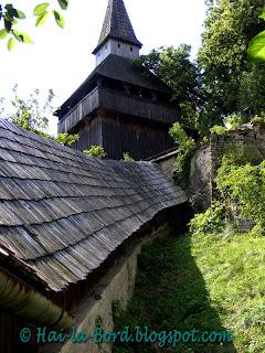 turnul cu clopot cetatea biertan