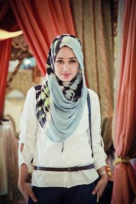 Cara Memakai Model Jilbab Modern