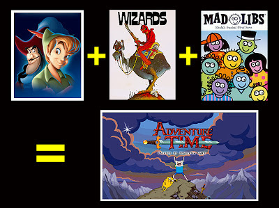 Adventure TIme Review Peter Pan Wizards Mad Libs similarities
