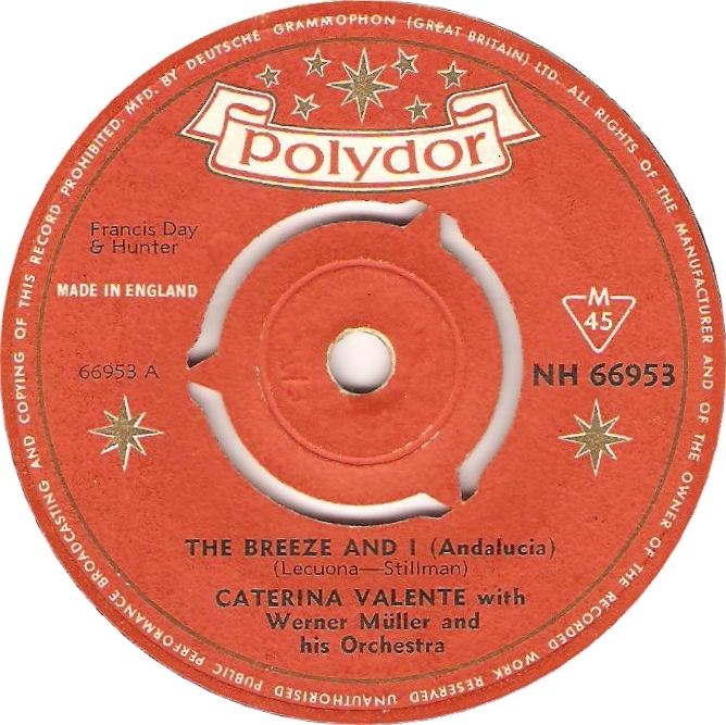 Cyril Stapleton And His Orchestra Theme From Department S