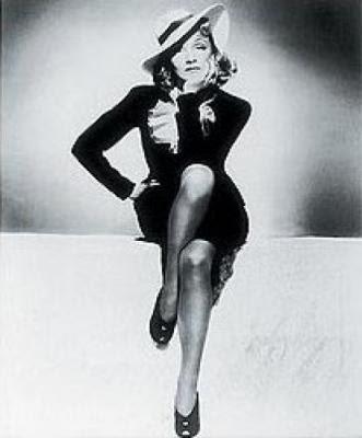 style icon Marlene Dietrich