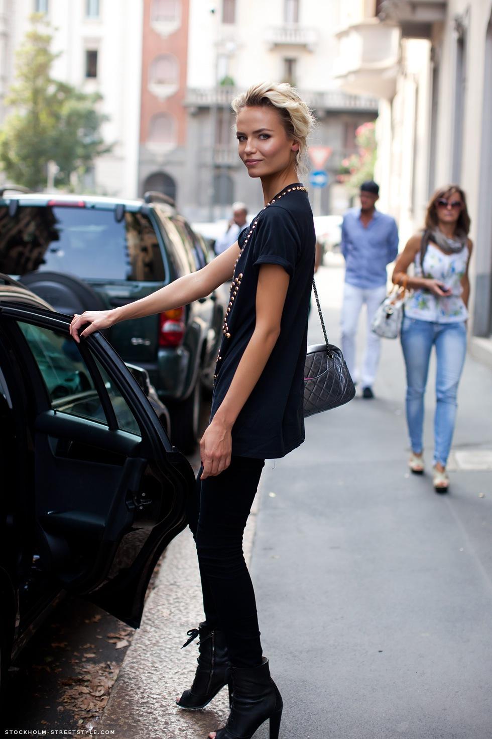 Natasha Poly streetstyle