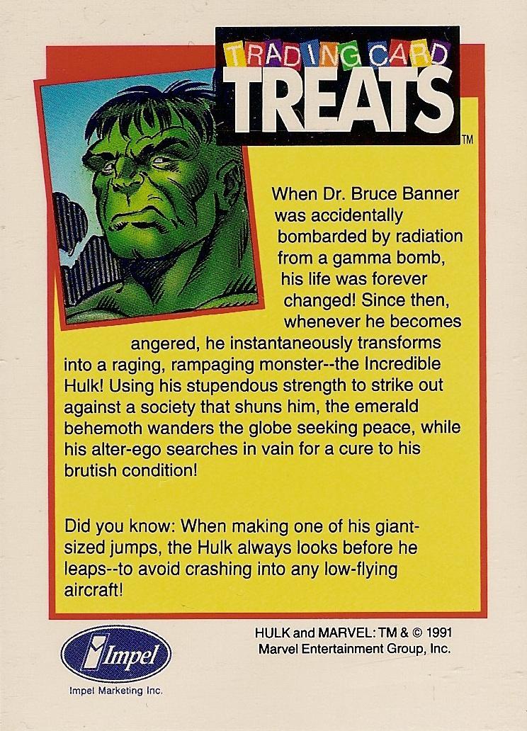 card treats 1991 screenshot marvel trading card game 80x64 marvel