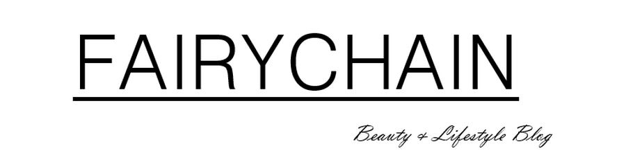 Fairychain - Beauty & Lifestyle Blog