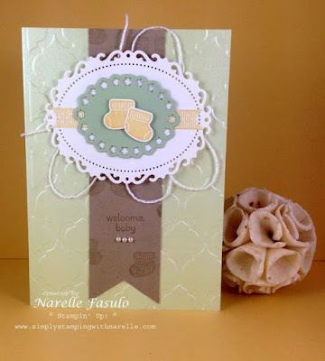 Narelle Fasulo - Indpendent Stampin' Up! Demonstrator