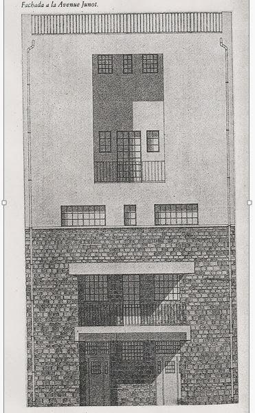 Historia de la arquitectura moderna casa tristan tzara for Historia de la arquitectura moderna