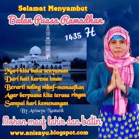 Puisi Pantun Ucapan Selamat Menyambut Puasa Bulan Suci Ramadhan