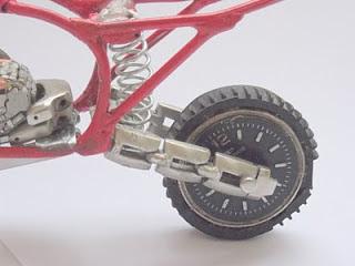 Roda Motocross Miniatura