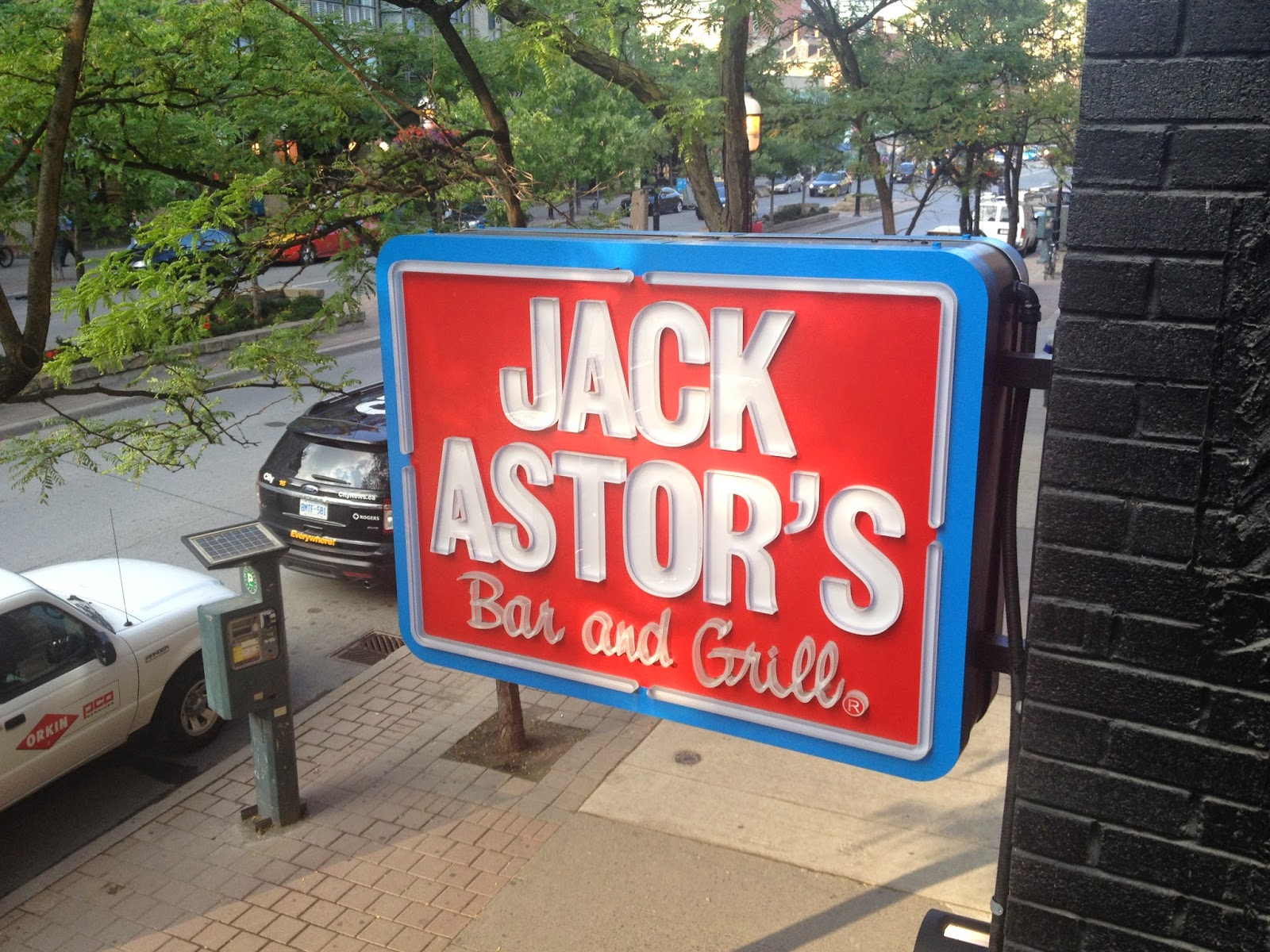 Jack Astor's in the St. Lawrence Market area