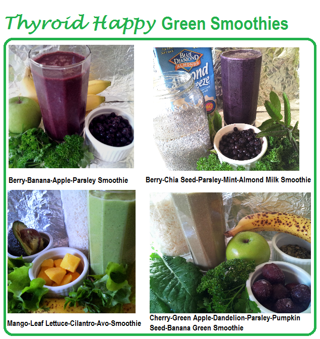 Thyroid-Happy Green Smoothies