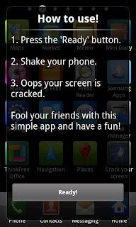 CrackScreen برنامج ممتع لكسر شاشة