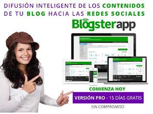 Difunde Fácil e Inteligente tu Blog – BlogsterApp