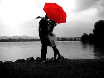 Foolproof Your Relationship - love and romance - two lovers under umbrella