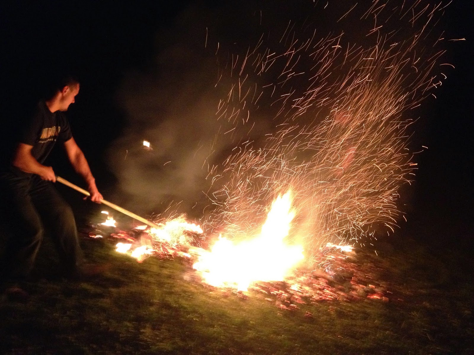 firewalking experience in Canada