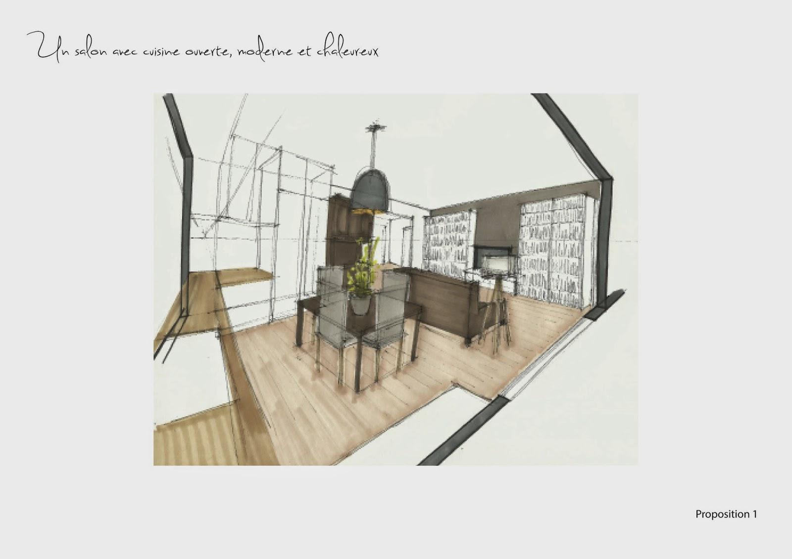 adc l'atelier d'à côté : aménagement intérieur, design d'espace et ... - Plan De Cuisine Ouverte Sur Salle A Manger