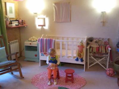 rosa decoracion infantil - Ideas para decorar un cuarto infantil. El cuarto del bebé.