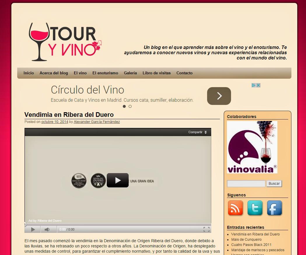 entrevistas a blog de vino