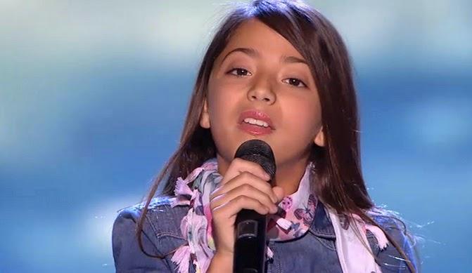 Evelyn canta Me cuesta tanto olvidarte de Mecano: Final Individual Pequeños Gigantes