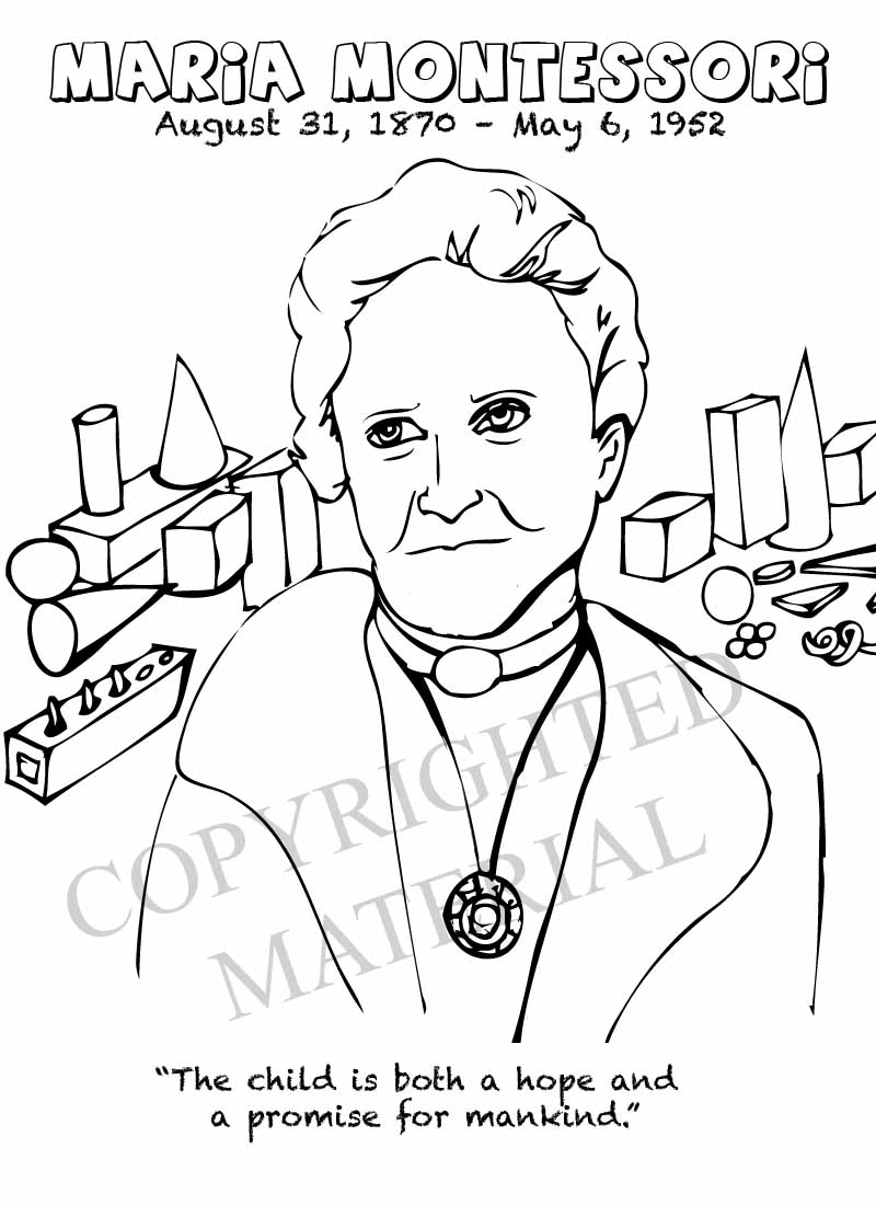 Maria Montessori Physicist And Education Philosopher