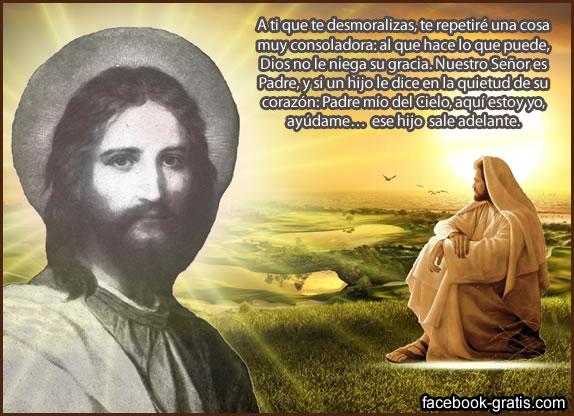Postal de Jesucristo
