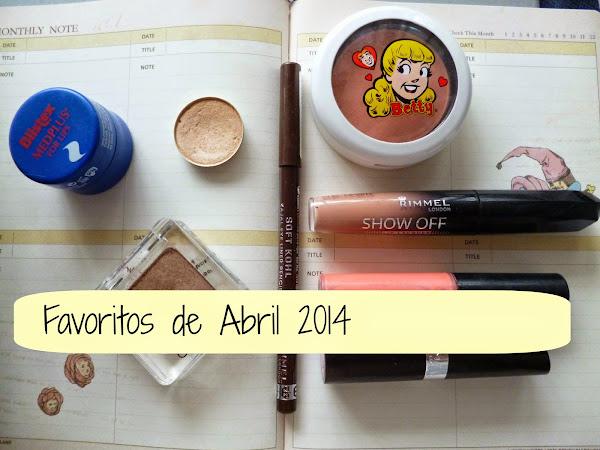 Favoritos (y mas usados) de Abril 2014