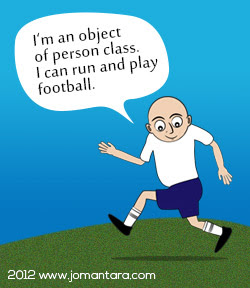 Playing footbal