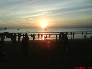 Sunset Pangandaran