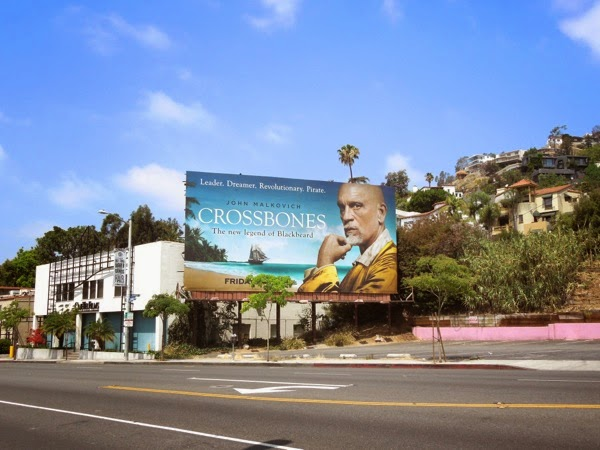 Crossbones season 1 billboard