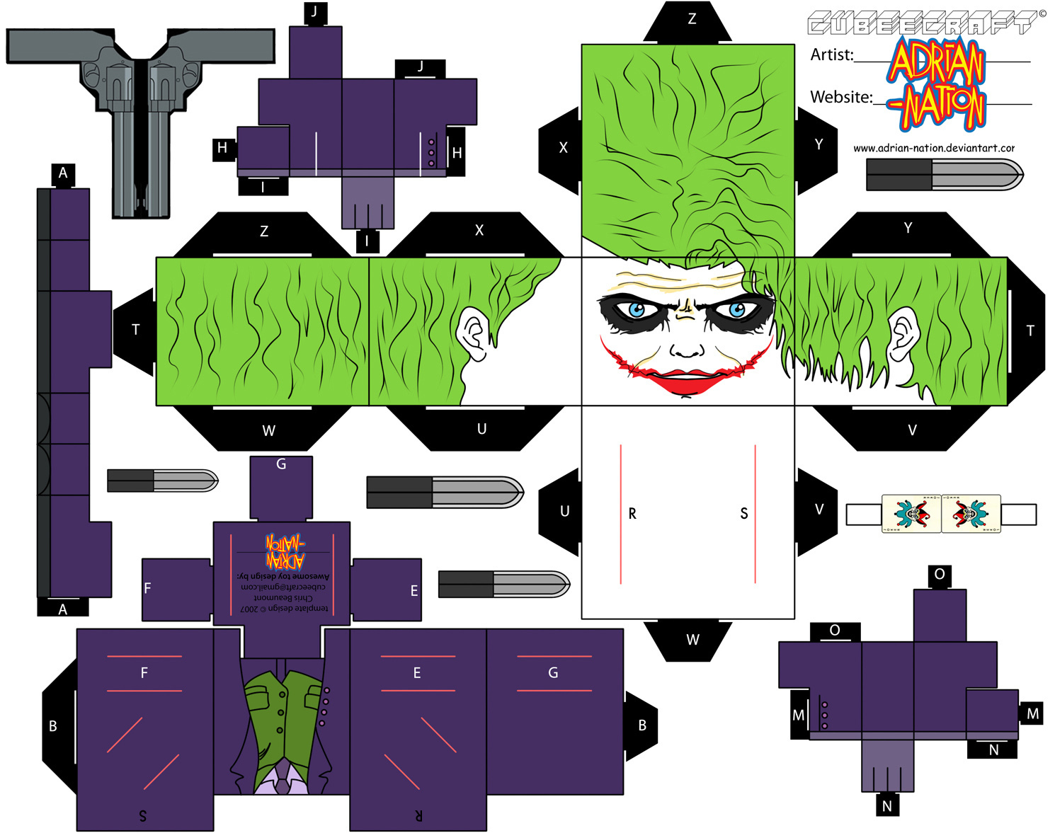 Dini Create Cubeecraft Batman
