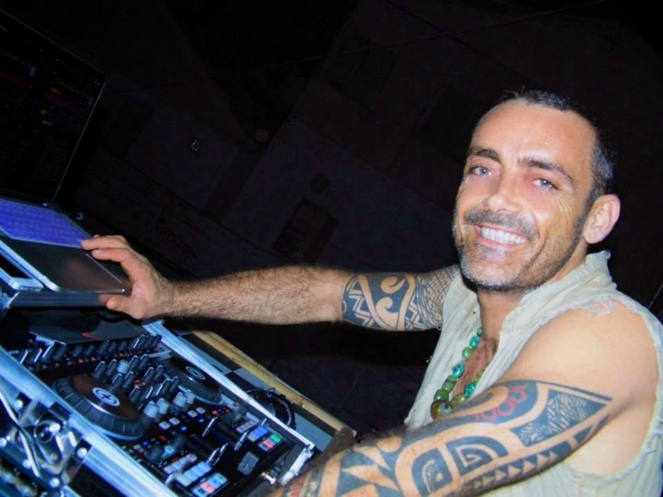 Full Moon Party resident DJ Benoit C