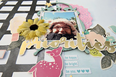 Priorities scrapbook layout by tracee provis for papermaze 04
