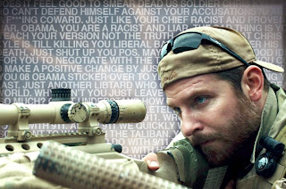 American Sniper picture with snark comments