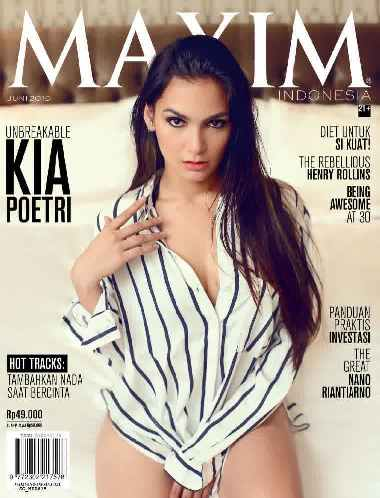 Download MAXIM Indonesia Magazine Edisi Juni 2015 Cover Kia Poetri, Unbreakable | www.insight-zone.com