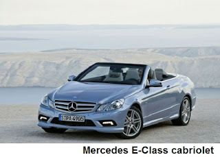 Mercedes E-Class convertible