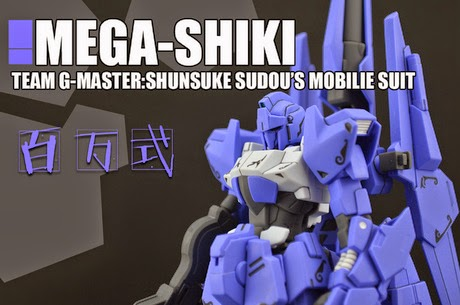 gundam mobile fighters try mega shiki