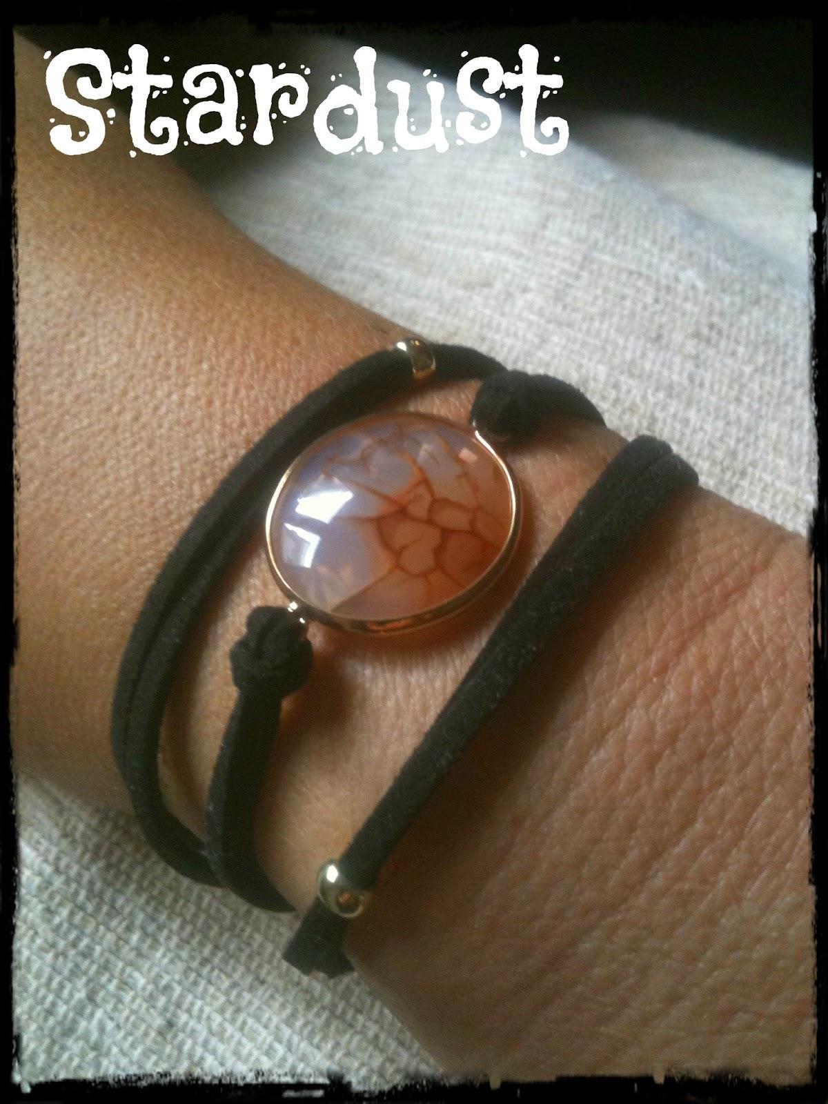 Agate stone bracelet