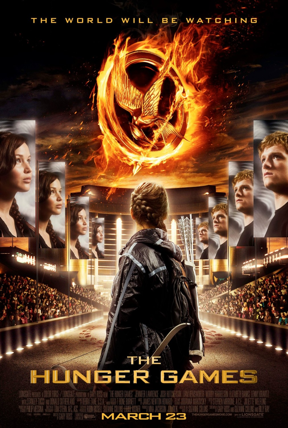 Jogos Vorazes (The Hunger Games) DVDRip Dual Áudio - Torrent