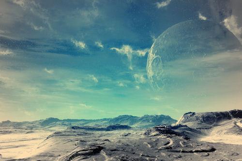 Wallpaper de un paisaje fantástico (1680x1050px)