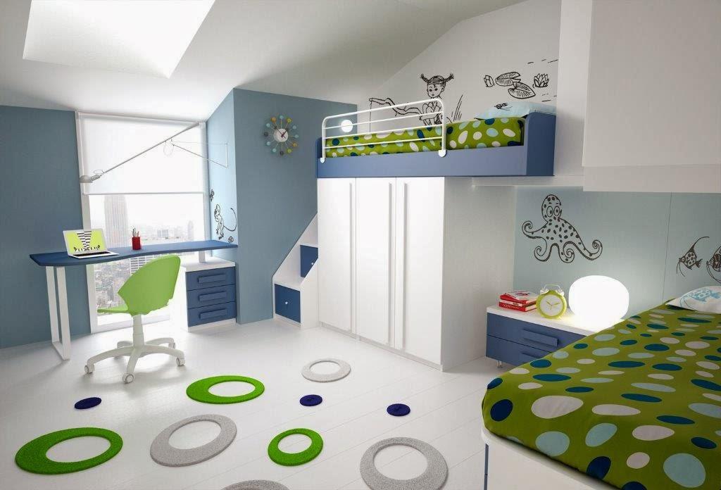 Bonetti camerette bonetti bedrooms cameretta doppia in - Camerette in mansarda ...