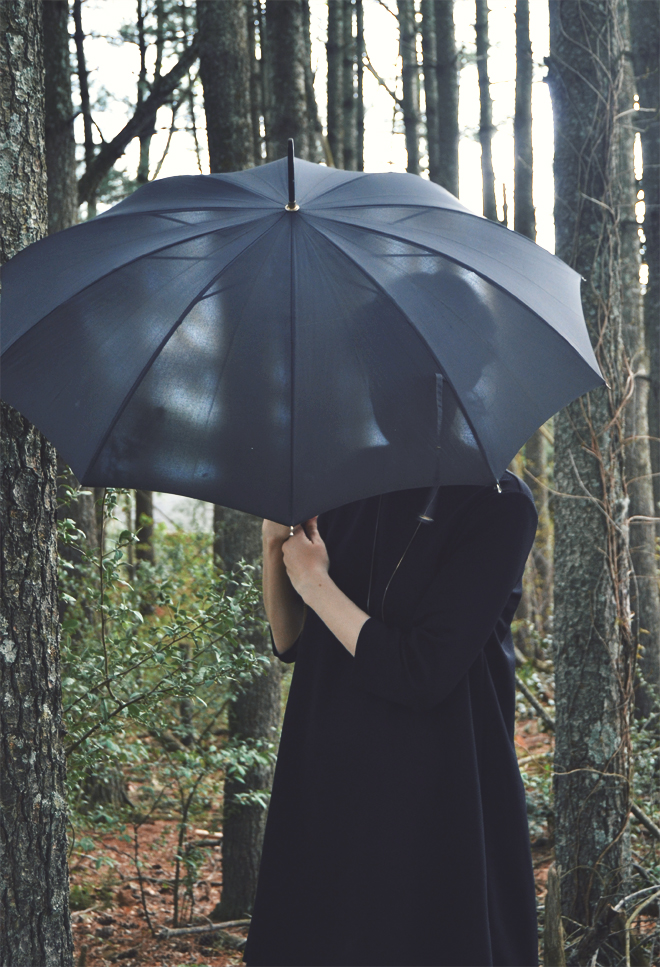 The Flying Clubhouse: Black Umbrella