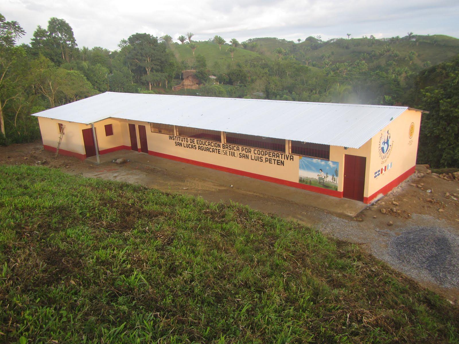 École de San Lucas Aguacate (Setul) décembre 2016