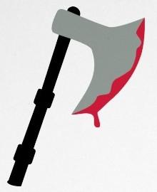 mulher morre com golpes de machado