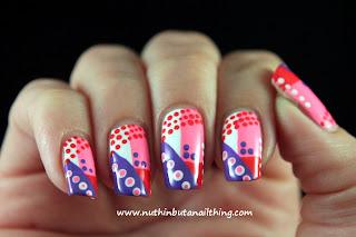 Crumpets Nail Tarts - June Tri-Polish Challenge