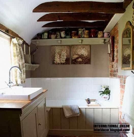 Provence style bathroom interior designs ideas