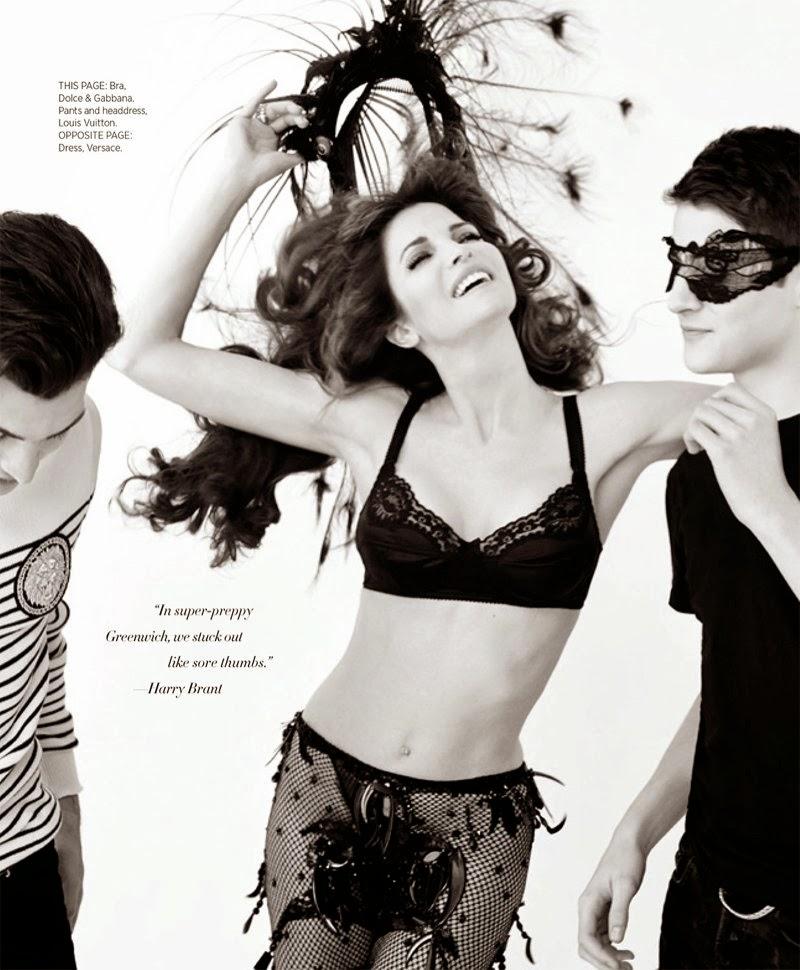 Stephanie Seymour HQ Pictures Harper's Bazaar US Magazine Photoshoot March 2014